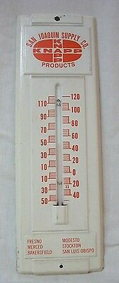 Vintage San Joaquin Supply Co. Thermometer