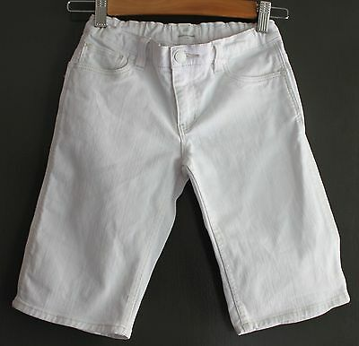 COUNTRY ROAD ~ Kids Unisex Off-White Heavy Cotton Drill Stretch Long Shorts ~ 10