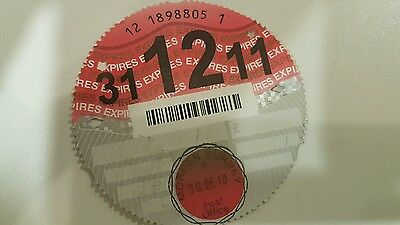 20 individual  tax discs. some from same car with yearly and some 6 monthly