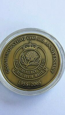 Nsw Ses 50Th Anniversary Medal