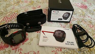 Polar RC3 GPS with Heart Rate Sensor Never Used