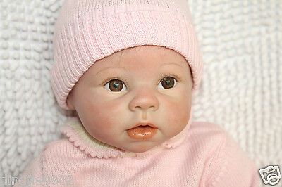"Lifelike 22"" Reborn Doll Reality Newborn Soft Silicone Vinyl Girl Christmas Gift"