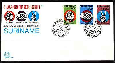 Suriname 1980 Fdc – Independence #a0367