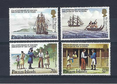 PITCAIRN  ISLANDS - 1983 175th Anniv of Folger's Discovery FOUR VALUES ALL MNH.
