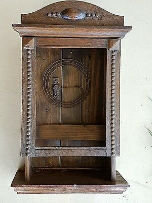 antique clock case