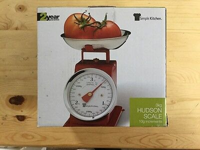 3Kg Red Hudson Scale