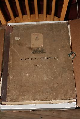 Rare Campaign in Germany 1866 HMSO map set