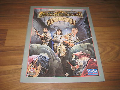 AD&D 2nd Edition Forgotten Realms Marco Volo Journey 1994 TSR 9450 SC