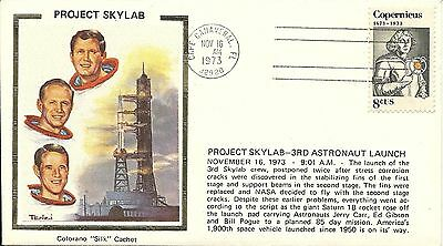 Project Skylab 3Rd Manned Launch 11/16/73, Astronauts Carr, Gibson, Pogue