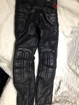 Frank Thomas Armoursport Leather Motorcycle Trousers