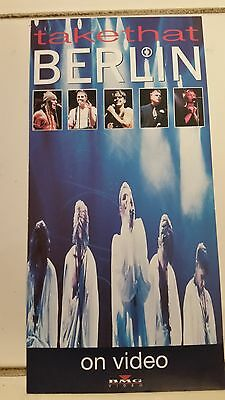 Take That: Berlin (Promo Postcard For 1994 Video Release)