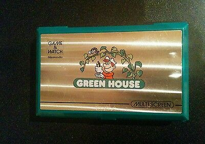 Nintendo Greenhouse Game and Watch