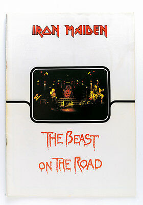 Iron Maiden - The Beast On The Road (Official 1982 Uk Tour Programme) Nwobhm