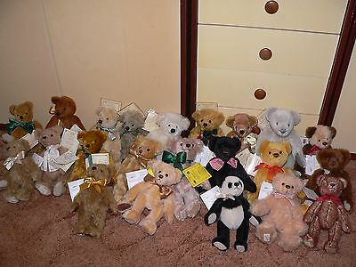 Deans Bears Membership Bears 1994-2016 (23 in total) All with tags