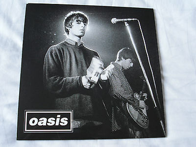 """Oasis - Supersonic Live / Cigaretes And Alcohol Live 7"""" Record Noel Gallagher"""