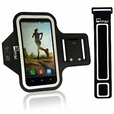 Premium Armband for iPhone 7 Samsung S7 with Fingerprint ID & Earphone Access