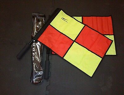 Agora Soccer Linesman Referee Flag Set with case