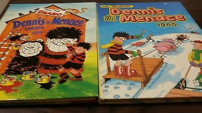 Dennis the menace annual 1985 1994 from the the beano kids comic annuals  cheap