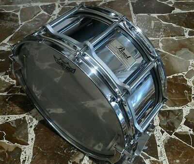 "Pearl Free Floating Snare Drum Steel Shell 14 x 6.5"" - Rullante - Trommel"
