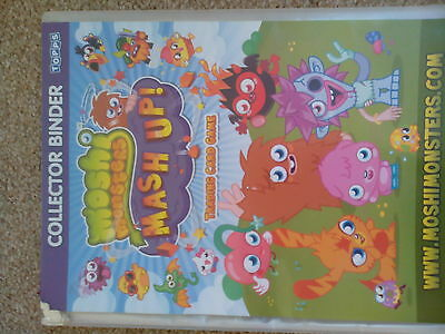 Moshi Monster cards and binder