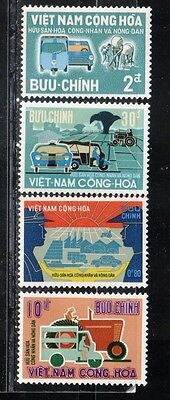 1968 South Vietnam stamps, full set MH, SC 331-4