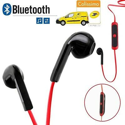 ecouteur bluetooth Casque Pour IPhone Samsung Wiko HTC Sony