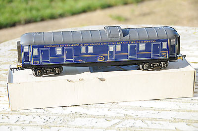 A.S wagon bagages CIWL AS n° 1245 idem jep hornby