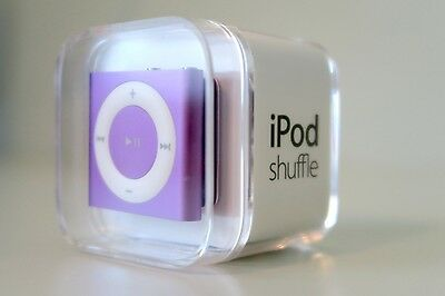 *Brand New & Sealed* Apple iPod Shuffle 2GB 4th Gen Purple - FREE EXPRESS POST