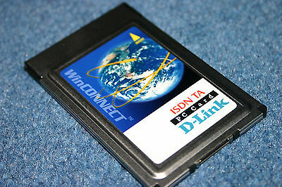 New D-Link WinConnect 128 ISDN TA PC Card PCMCIA WAN for Laptop DTA-128 plus