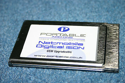 New Netmobile Digital ISDN PCMCIA CardBus PC Card for Laptop Portable Add-Ons