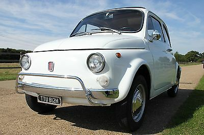 1969 Classic Fiat 500 L Lusso White - See More Photos Inside - Price Reduced!!!