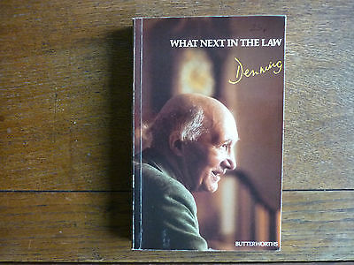 What Next in the Law by Lord Denning