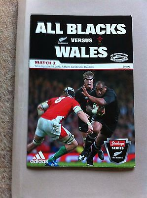 New Zealand v Wales First Test 2010