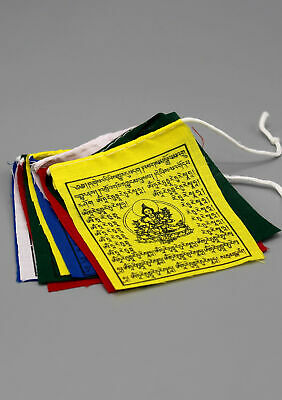 SMALL GREEN TARA Tibetan Prayer Flags with English