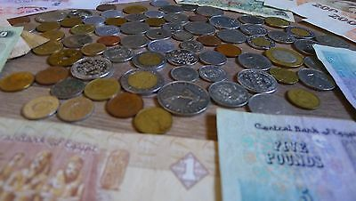 Mixed Foreign Currency Assortment Around The World