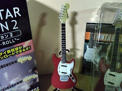 F-Toys 1/8 FENDER GUITAR COLLECTION 2, '67 MUSTANG (Red)