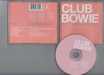 Bowie Club Bowie CD Rare 12inch Mixes