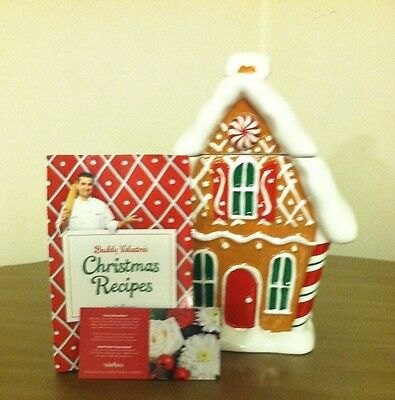 Teleflora Gingerbread House Cookie Jar With Buddy Valastro's Recipe And More