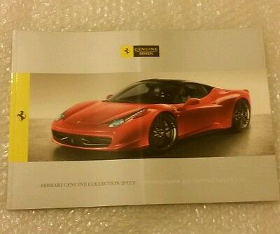 Ferrari F458 Genuine Collection Brochure - High Quality