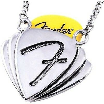 Fender King Baby Pick Holder Necklace, Halskette