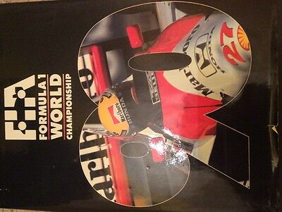 Ayrton Senna And Many Other Great Racers Signed Book
