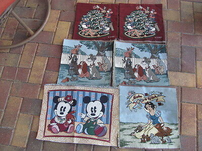 6 DISNEY Tapestry Pieces for Pillow Tops and More From Smoke Free Home