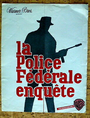 THE FBI STORY, JAMES STEWART, synopsis, LA POLICE FEDERALE ENQUETE