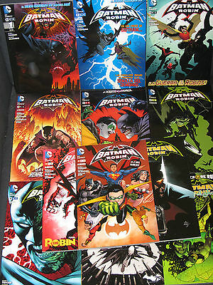 Batman Y Robin ( Ecc) Coleccion Completa !!!! 12 Tomos + Regalo !!!!