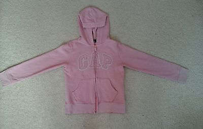 Girls Pink GAP Hoodie, age 8 to 9 years