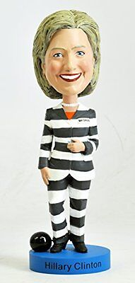 Hillary Clinton Striped Pantsuit Bobblehead