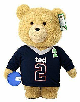 """Ted 2 Movie-Size Plush Talking Teddy Bear Explicit Doll in Jersey, 24"""""""