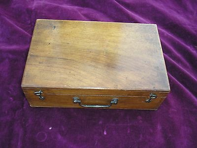 Bourgeois Aine Antique / Vintage French Portable / Childrens Wooden Art Box
