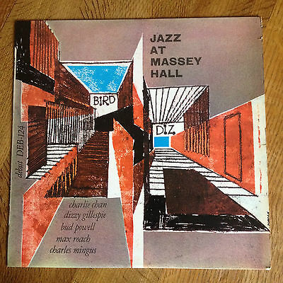 Jazz At Massey Hall  Debut DEB-124  Dizzy Gillespie Bud Powell Charles Mingus NM