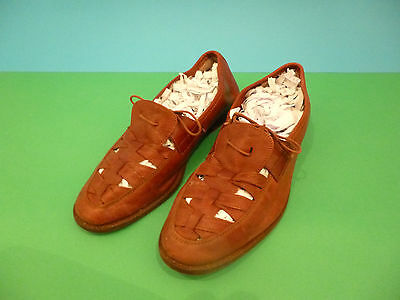 Vintage Mens leather casual Italien made shoe